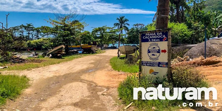 Foto da Praia da Caçandoca Ubatuba
