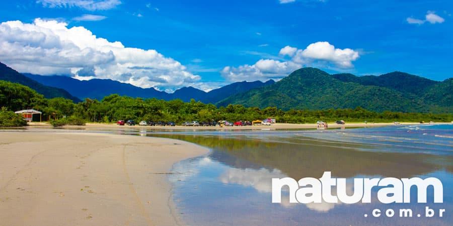 Foto da Praia do Ubatumirim Ubatuba - Naturam