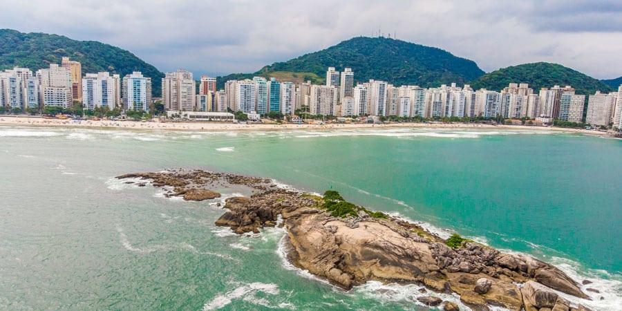 Foto da Praia das Pitangueiras Guarujá