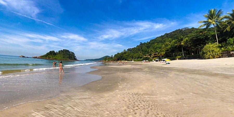 Foto da Praia de São Pedro - Praias do Guarujá